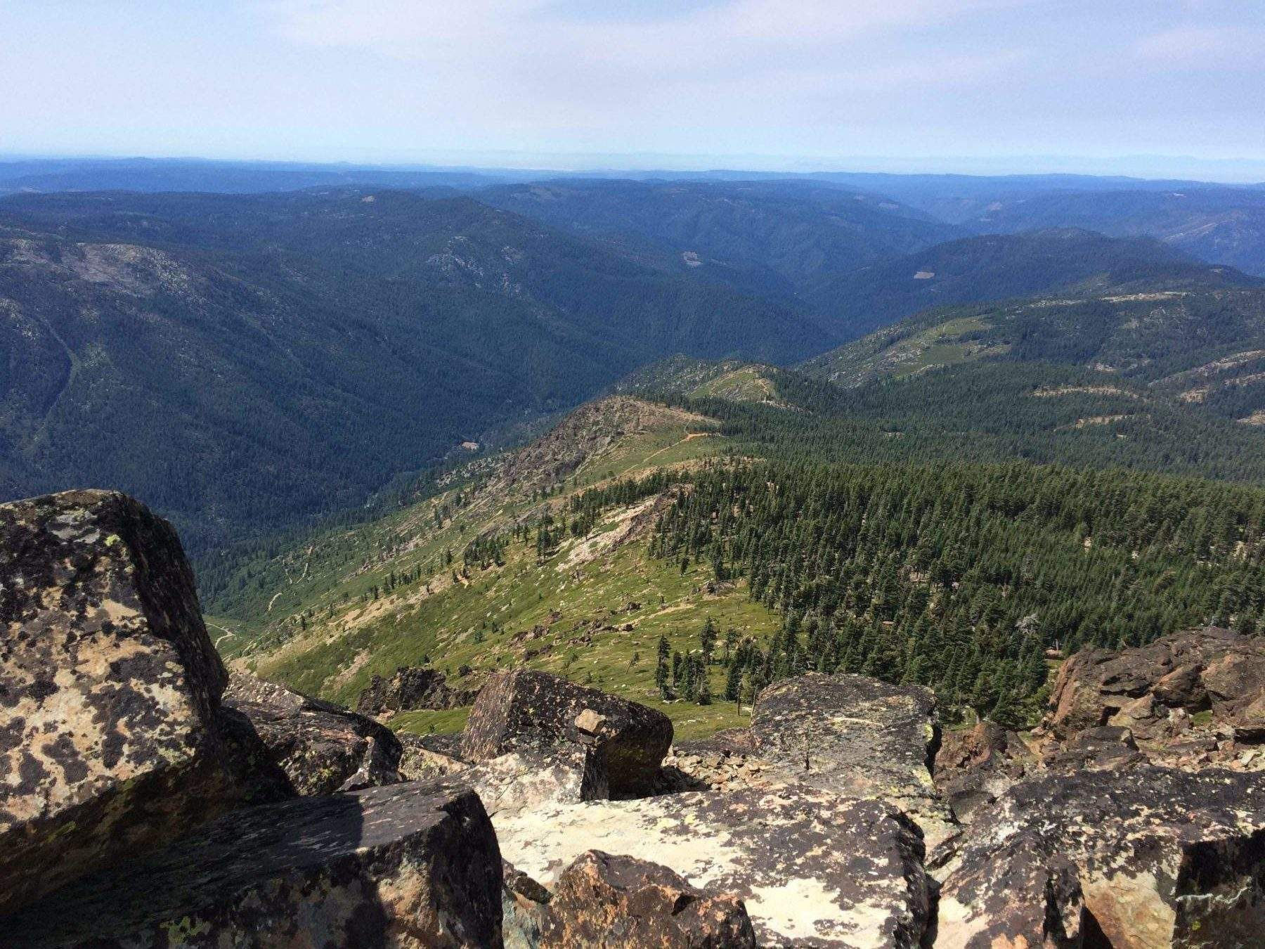 From Sierra Buttes